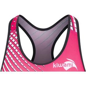 KiWAMi Prima Openback Combinaison de protection Femme, black/pink